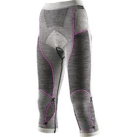 X-Bionic Apani Merino By X-Bionic Fastflow Ondergoed onderlijf Dames grijs/roze